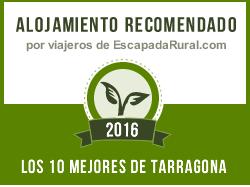 Cal Gasso el millor allotjament de Tarragona 2016